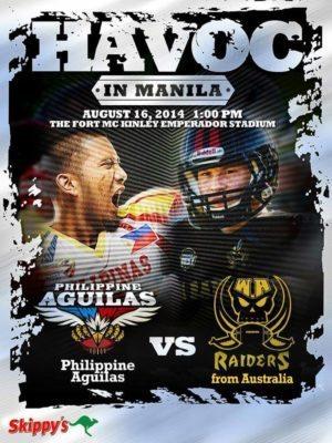 Aguilas v. WA Raiders