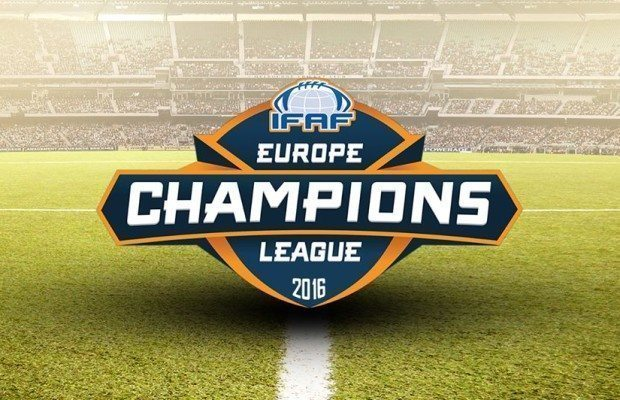 ifaf europe champions league teams announced for 2016