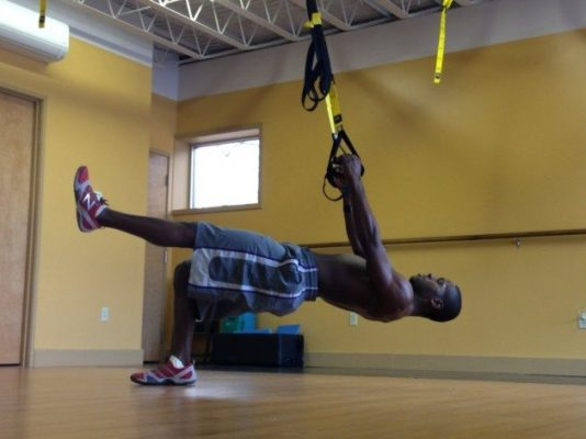 USA Football - 15 exercises - TRX hip press