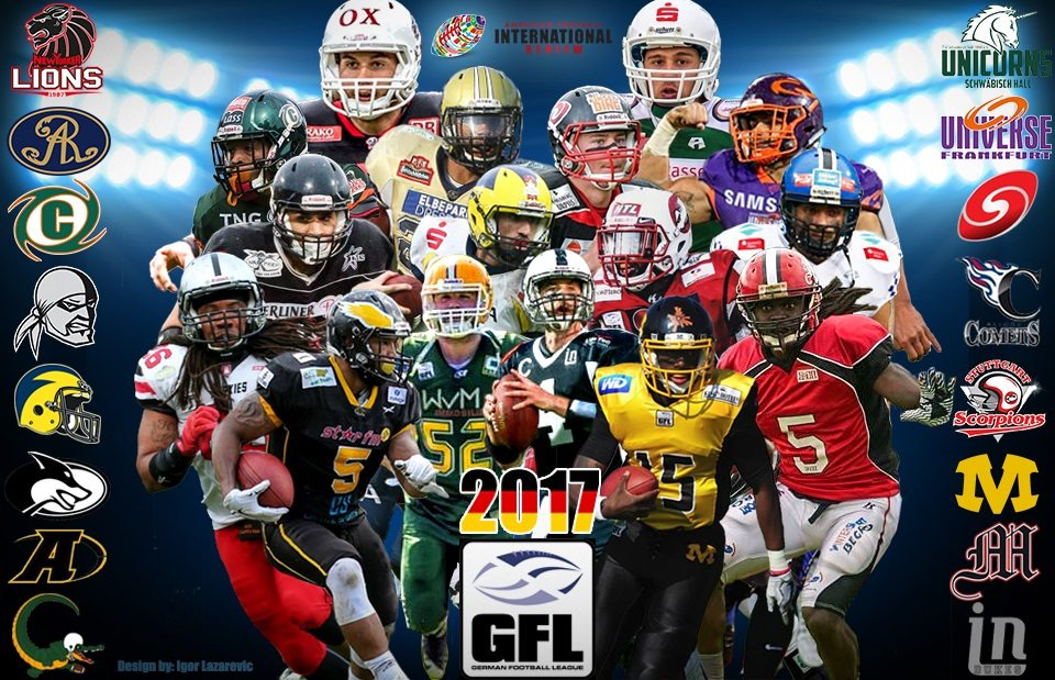 Power Rankings: The 2017 German Football League